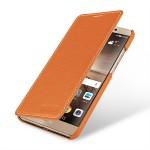 Кожаный чехол горизонтальная книжка (премиум нат. кожа) для Huawei Mate 9