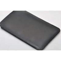 Кожаный мешок для Samsung Galaxy S5 Черный