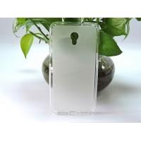 Силиконовый матовый полупрозрачный чехол для LG X Power Белый