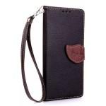 Текстурный чехол портмоне подставка с дизайнерской застежкой для Huawei Mate 8