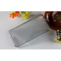 Силиконовый S чехол для HTC Desire 626/628 Серый