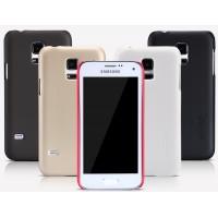 Пластиковый премиум матовый нескользящий чехол для Samsung Galaxy S5 Mini