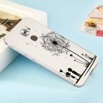 Двухкомпонентный чехол c металлическим бампером с поликарбонатной накладкой и УФ-принтом для LeEco Le Pro 3