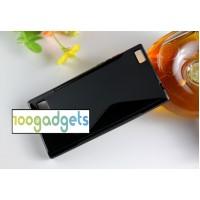 Силиконовый S чехол для Blackberry Leap Черный