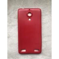 Силиконовый чехол для ZTE Nubia Z5 Красный
