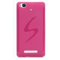 Силиконовый чехол S для Fly Universe 5.7 IQ457 Розовый
