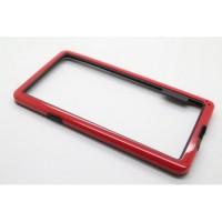 Бампер двухцветный для Samsung Galaxy S5 Красный