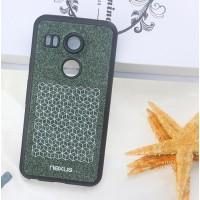 Оригинальный силиконовый чехол с текстурным войлочным покрытием для Google LG Nexus 5X