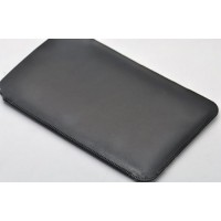 Тонкий кожаный мешок для планшета Sony Xperia Z2 Tablet Черный