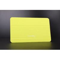 Сегментарный чехол книжка подставка на поликарбонатной непрозрачной основе для Samsung Galaxy Tab E 9.6 Зеленый
