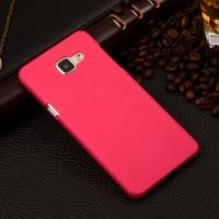 Пластиковый матовый непрозрачный чехол для Samsung Galaxy A5 (2016) Пурпурный