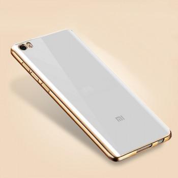 Силиконовый матовый полупрозрачный чехол с текстурным покрытием Металлик для Xiaomi Mi Note