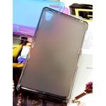 Силиконовый матовый полупрозрачный чехол для Sony Xperia Z2