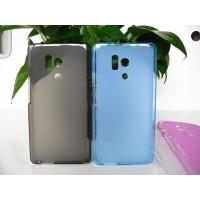 Силиконовый матовый полупрозрачный чехол для Huawei Honor 3