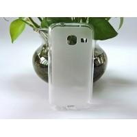 Силиконовый матовый полупрозрачный чехол для Samsung Galaxy J1 mini (2016) Белый