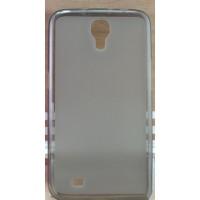 Силиконовый матовый полупрозрачный чехол для Samsung Galaxy Mega 6.3