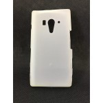 Силиконовый матовый полупрозрачный чехол для Sony Xperia acro S