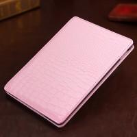Чехол подставка серия Croco Pattern для Ipad Air 2 Розовый