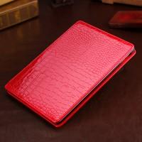 Чехол подставка серия Croco Pattern для Ipad Air 2 Красный