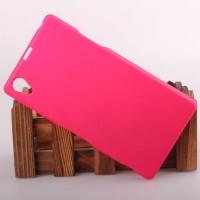 Пластиковый чехол для Sony Xperia Z1 Розовый