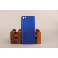 Пластиковый матовый непрозрачный чехол для Xiaomi MI5 Синий