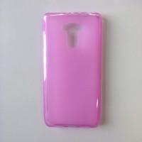 Силиконовый матовый полупрозрачный чехол для Xiaomi RedMi 4/4 Pro Розовый