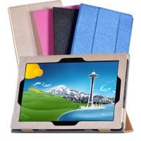 Сегментарный чехол книжка подставка текстура Золото с рамочной защитой экрана для Lenovo IdeaPad MIIX 310