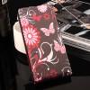 Чехол вертикальная книжка на силиконовой основе с полноповерхностным принтом на магнитной защелке для Xiaomi Mi Mix