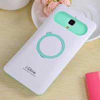 Силиконовый чехол с встроенным кольцом-подставкой для Xiaomi Mi4 Белый