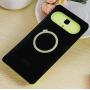 Силиконовый чехол с встроенным кольцом-подставкой для Xiaomi Mi4