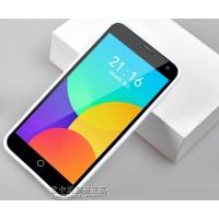 Силиконовый чехол серия JellyCase для Meizu MX4 Белый