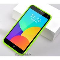 Силиконовый чехол серия JellyCase для Meizu MX4 Зеленый