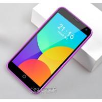 Силиконовый чехол серия JellyCase для Meizu MX4 Фиолетовый