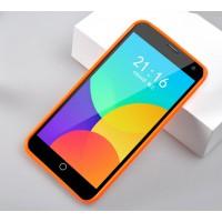 Силиконовый чехол серия JellyCase для Meizu MX4 Оранжевый