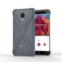 Чехол тонкий защитный каркас X для Meizu MX4 Черный