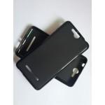 Силиконовый матовый непрозрачный чехол для Micromax Juice 2