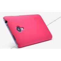 Пластиковый премиум матовый чехол для Meizu MX4 Пурпурный