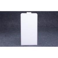 Клеевой чехол вертикальная книжка с магнитной застежкой для Highscreen Power Ice Белый