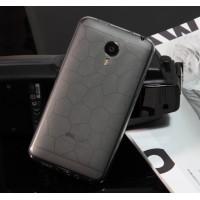 Силиконовый чехол серия соты для Meizu MX4 Черный