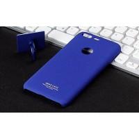 Пластиковый непрозрачный матовый чехол с повышенной шероховатостью для Google Pixel Синий