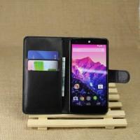 Чехол портмоне подставка на магнитной защелке и отсеком для карт для Google LG Nexus 5