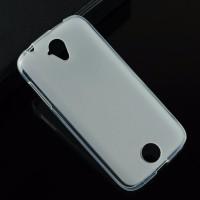 Силиконовый матовый полупрозрачный чехол для Acer Liquid Z330