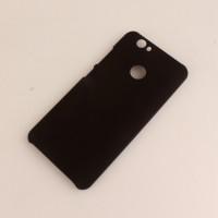 Пластиковый непрозрачный матовый чехол для Huawei Nova Черный