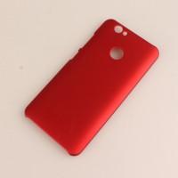 Пластиковый непрозрачный матовый чехол для Huawei Nova Красный