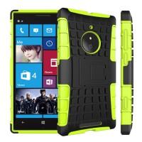Силиконовый чехол экстрим защита для Nokia Lumia 830 Зеленый