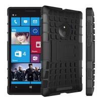 Силиконовый чехол экстрим защита для Nokia Lumia 830 Черный