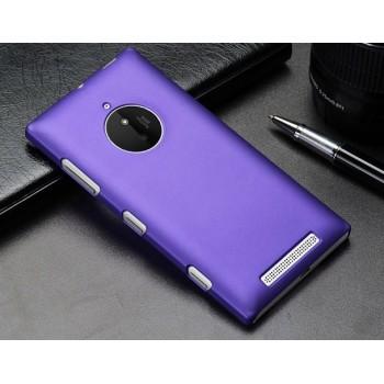 Пластиковый матовый металлик чехол для Nokia Lumia 830