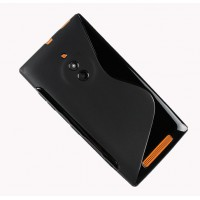 Силиконовый S чехол для Nokia Lumia 830 Черный