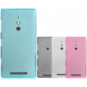 Силиконовый матовый полупрозрачный чехол для Nokia Lumia 830