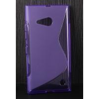 Силиконовый S чехол для Nokia Lumia 730/735 Фиолетовый